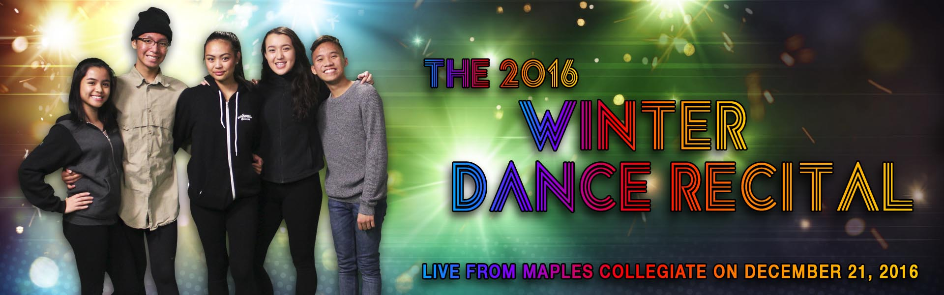 2016 Winter Dance Recital