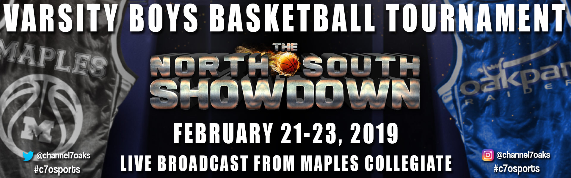 C7O Sports North-South Showdown Banner
